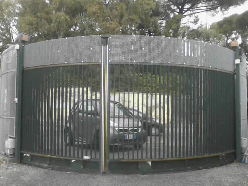 Cancello automatico FAAC Parco Rivalta Posillipo Napoli
