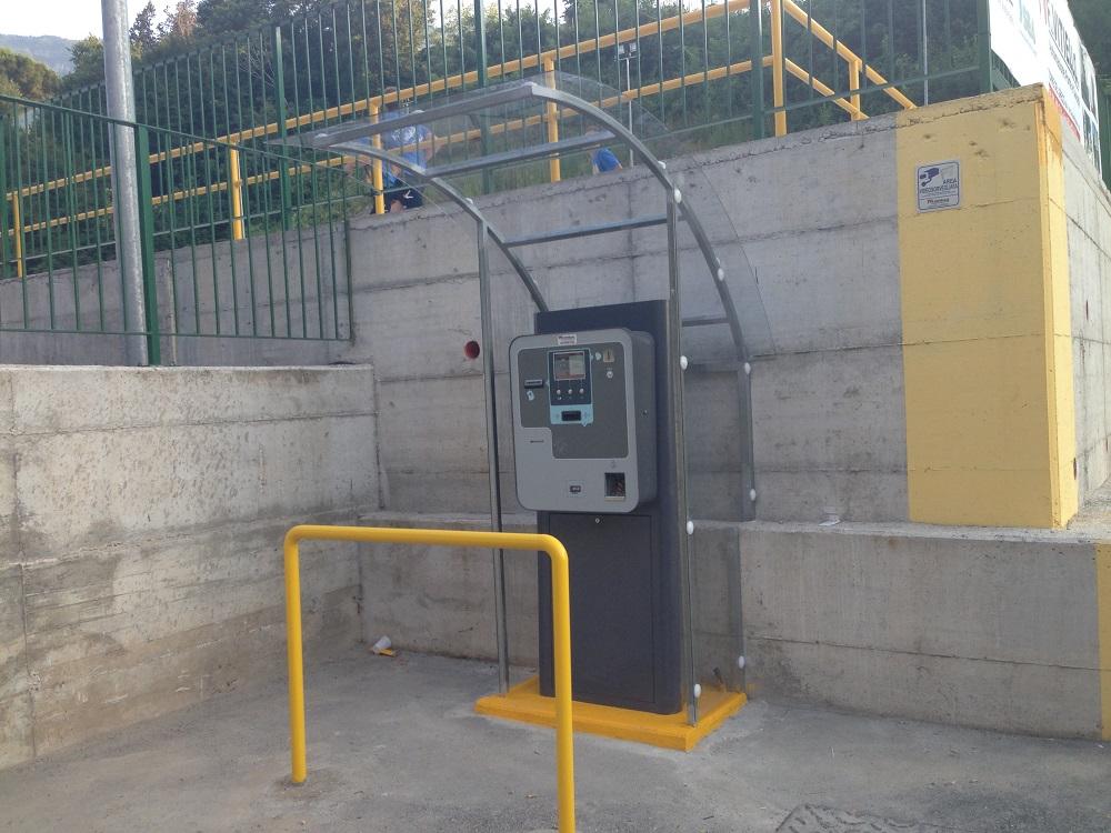 Sistema di parcheggio Sacs presso Sint Castellammare di Stabia
