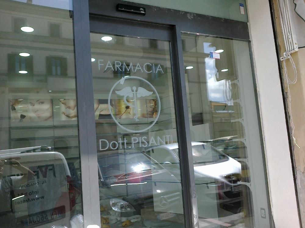 Porta automatica Ditec Rex Farmacia Pisanti Roma Segni