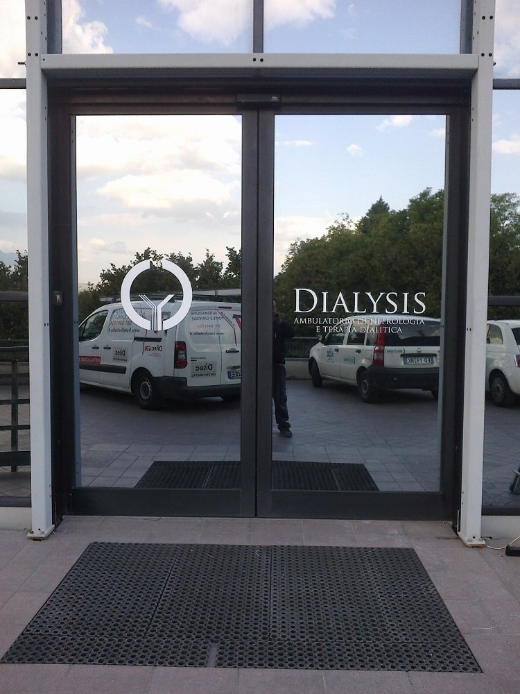 Dialysis Avellino Porta Automatica Ditec Valor