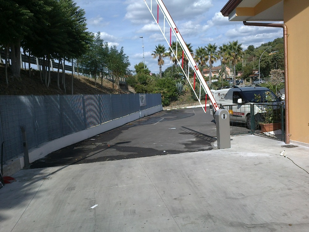 Barriera automatica Ditec QIK Conad Spinelli San Marco di Castellabbate