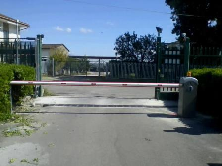Al Centro di Ricerca Agraria di Pontecagnano Salerno una barriera Ditec