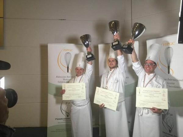 E nostro cliente il vincitore del Campionato Italiano di pasticceria