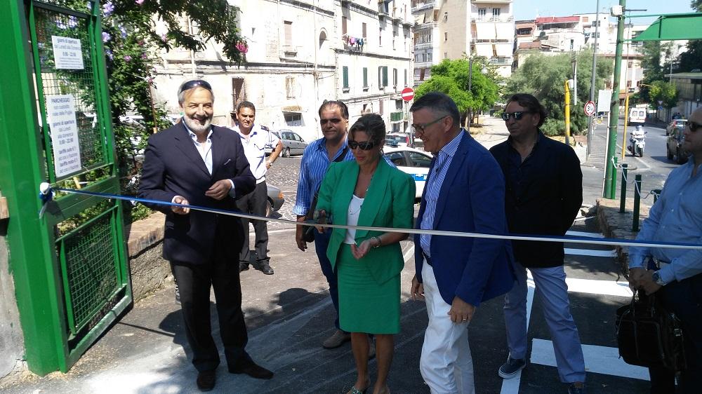 Inaugurato il nuovo parcheggio a Castellammare di Stabia Napoli