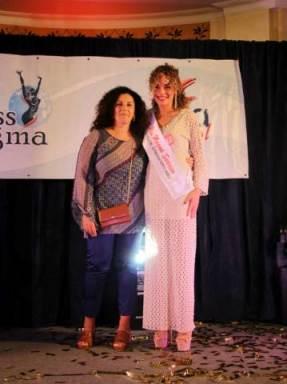 Miss Magma Sorriso indossa la fascia F.lli Vitiello