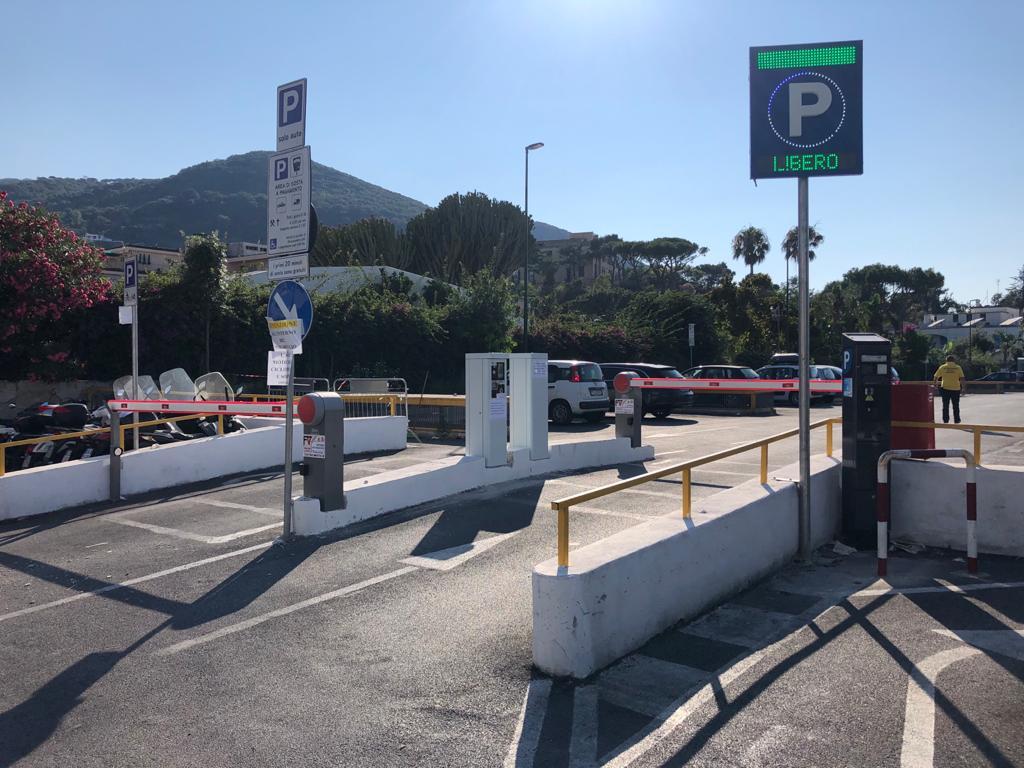 Parcheggio automatico ISCHIA